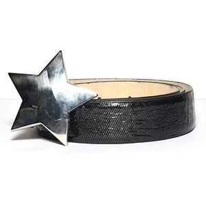 Betsey Johnson Star-Buckle Belt